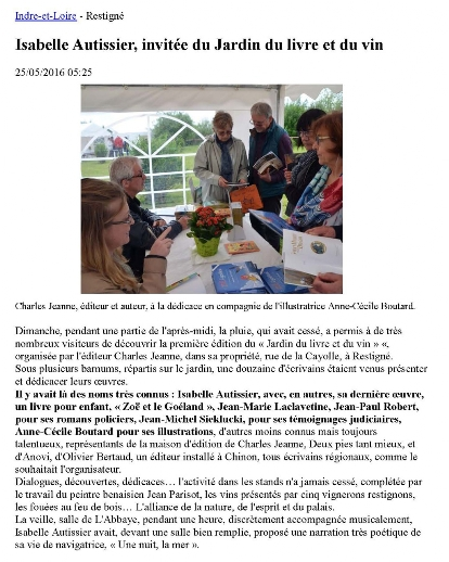Article NR juin 2016